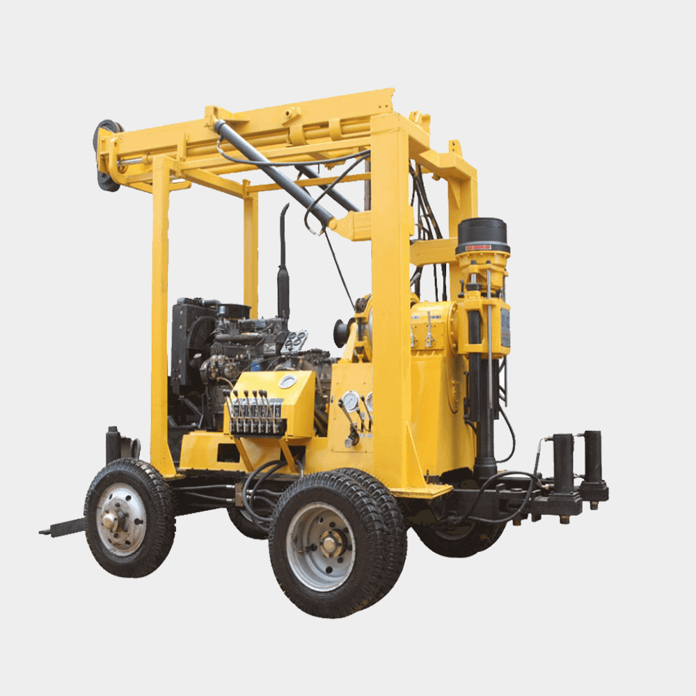 Water drilling machine for industry